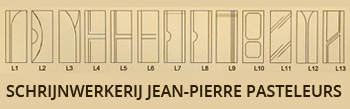 Jean-Pierre Pasteleurs - schrijnwerkerij